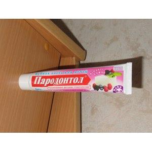 Зубная паста Пародонтол для детей Ягодное суфле фото