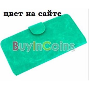 """Buyincoins Кошелек """"Women Credit Card PU Leather Long Wallet Purse #2"""" фото"""