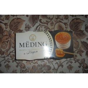 Десерт MЁDING С молочным кремом и мёдом фото