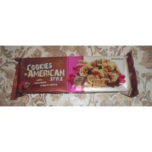 Печенье Bogutti American style С шоколадной стружкой и изюмом фото