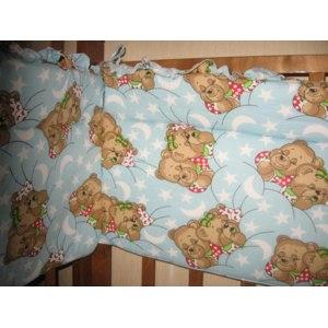 Бамперы-бортики защитные в кроватку    фото