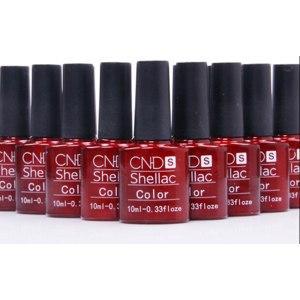 Гель-лак для ногтей Aliexpress СND Shellac Colorful 132 Colors10ML фото