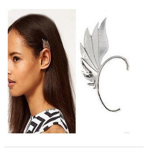 Кафф Aliexpress Retro Exaggerated Punk Alloy Wing Ear cuff C4R3C Free Shipping фото
