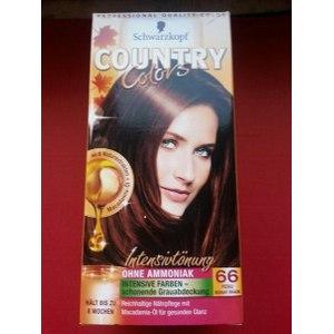 Краска для волос Schwarzkopf COUNTRY COLORS без аммиака  фото