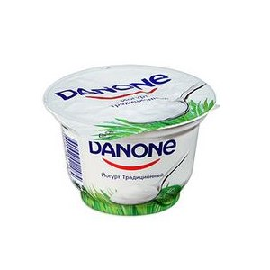 Йогурт Danone Традиционный фото