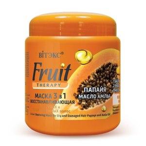 Маска для волос Витэкс Fruit Therapy Папайя и Масло Амлы фото
