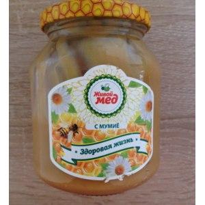 Мёд Живой мёд с мумие фото
