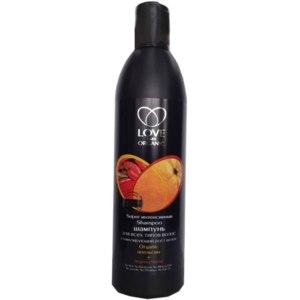 Шампунь Love 2 mix organic интенсивный стимулирующий рост волос Апельсин+Перец Чили фото
