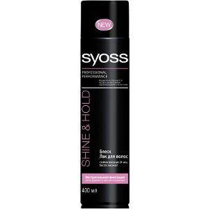 Лак для волос SYOSS SHINE and HOLD Экстрасильная фиксация фото