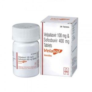 Противовирусное средство HETERO (Индия) Velasof Софосбувир + Велпатасвир фото