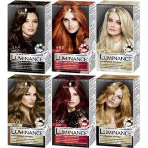 Стойкая краска для волос Schwarzkopf Luminance фото