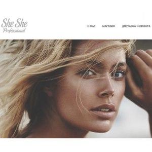 Сайт Shesheprofessional.ru фото