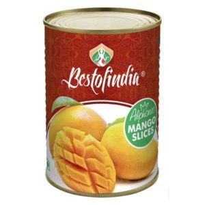 Манго кусочки Bestofindia Альфонсо натуральные без сахара (Mango Alphonso Slices) фото