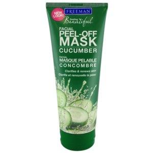 Очищающая маска-пленка для лица Freeman Facial peel-off mask CUCUMBER фото