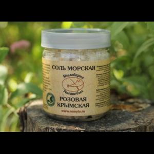 Соль морская Мыловарня Романовых Крымская розовая фото