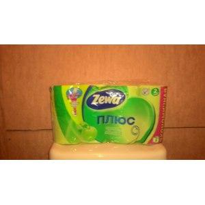 Туалетная бумага Zewa Aqua Tube Плюс Аромат яблока фото