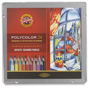 Koh-I-Noor Polycolor карандаши цветные фото