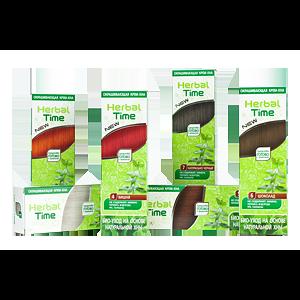 Окрашивающая крем-хна Herbal Time Био-уход на основе натуральной хны фото