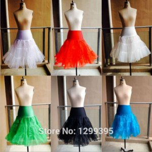 Подъюбник Aliexpress Short Wedding Petticoat for The Lower Lady Girl Skirt Petticoat Crinoline 2 Layers Any Sizes Real Photo 2015 In Stock фото