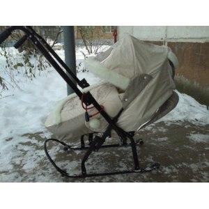 Санки - коляска Скользяшки Северные 8-Р8 фото