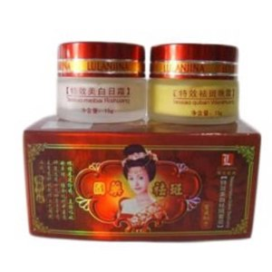 Крем для лица Lulanjina Anti-age facial whitening cream day&night set фото