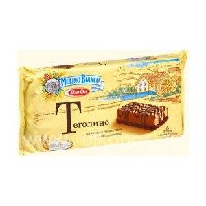 Пирожное  BARILLA бисквитное с кремом какао Теголино фото