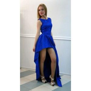 Платье Золотой песок Со шлейфом  фото