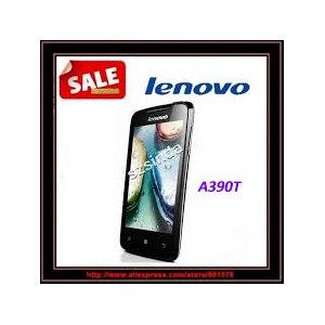 Мобильный телефон Aliexpress Original cheap phone Lenovo A390T dual-SC8825 4.0 Inch Android 4.0 4 GB Camera Wifi mobile phone Russian language фото