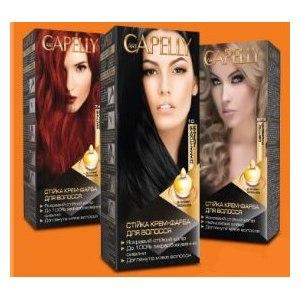 Краска для волос Art Capelly Стойкая крем-краска для волос фото