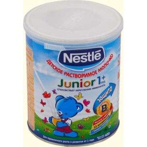 Молочко детское растворимое Nestle от 1 года фото