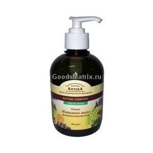 Мыло для интимной гигиены Зеленая аптека Нежное интимное мыло противовоспалительное с шалфеем фото