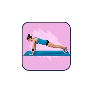 Мобильное приложение Планка для похудения за 30 дней фото