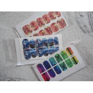 Наклейки для ногтей Арт слайдер Слайдер-дизайн фото