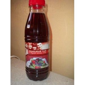Безалкогольный напиток О! холодный чай со вкусом лесных ягод фото