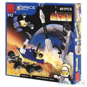 Брикник Конструктор Brick Космическая станция большая 461 деталей фото