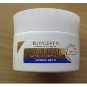Антивозрастной  крем ночной NOVOSVIT  Ламеллярный фото