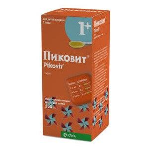 """Витамины KRKA Pikovit """"Пиковит"""" сироп фото"""