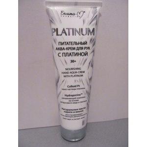 Крем для рук Белита-М cosmetics Аква-крем Питательный с ПЛАТИНОЙ фото