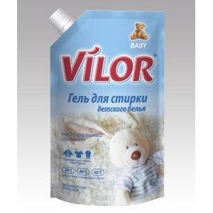Гель Vilor для стирки детского белья фото