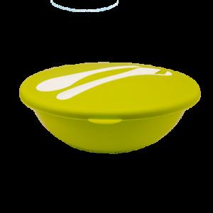 Салатник Fix Price круглый с крышкой и приборами 3 л фото