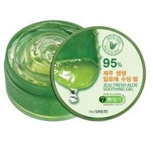 Универсальный увлажняющий гель The SAEM Jeju fresh aloe soothing gel 95% фото