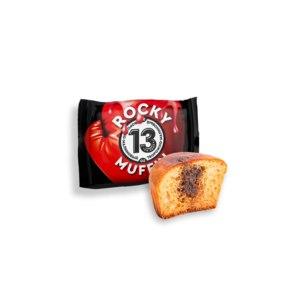 """Низкокалорийный кекс Mr. Djemius Zero """"Muffin ROCKY"""" Творожный с малиновой начинкой фото"""