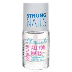 """Укрепляющее средство 5 в 1. Ninelle """"All for nails"""". фото"""
