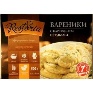 Полуфабрикаты Restoria Вареники с картофелем и грибами фото