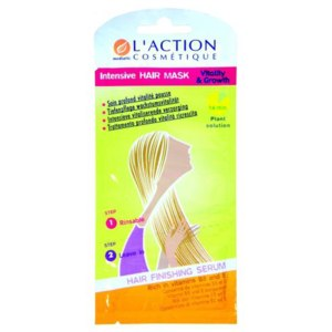 Маска для волос L'ACTION Intensive Hair Mask Vitality & Growth фото