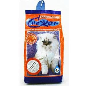 Наполнитель для кошачьего туалета  Снежок - Силикагель  фото