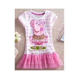 Платье детское AliExpress Платье Девочки Peppa Pig SV000734 B002 (110 см) фото