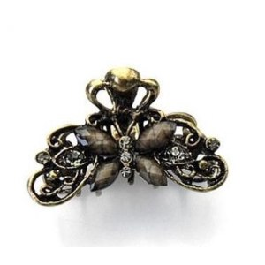Заколка для волос Aliexpress Free Shipping 2013 010 accessories vintage hair accessories Medium gripper butterfly hair claw фото
