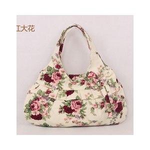 Сумка Aliexpress 2013 Hot sale canvas handbag Women cloth tote bag Fashionable handbag Small size shoulder bag for children girls Free shipping фото