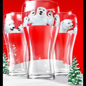Стаканы Coca-Cola Коллекция стаканов с мишками фото